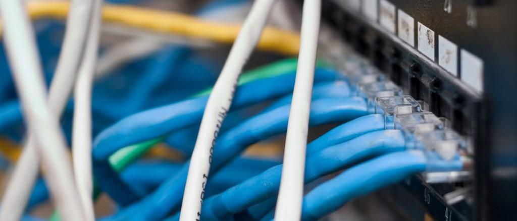 Network equipment for providing the internet.